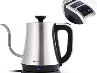 Electric Gooseneck Kettle with Variable Temperature Control