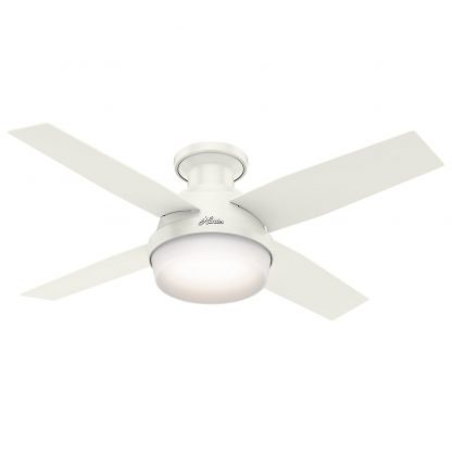 HUNTER Low Profile Ceiling Fan with Light