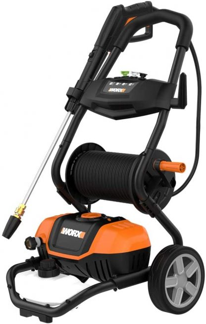 WORX WG604 Electric Pressure Washer with Rolling Cart at adiyotta com