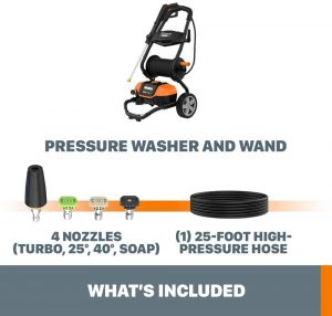 bundle worx wg604 electric pressure washer